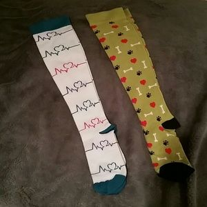 Compression socks 2 pair